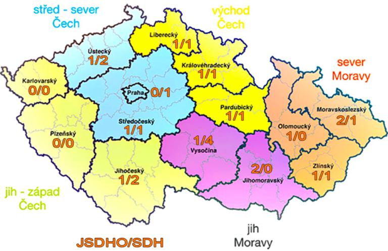 mapa oblastni rozdeleni pocty prihlasenych adhr 2021 dle kraju 768x498